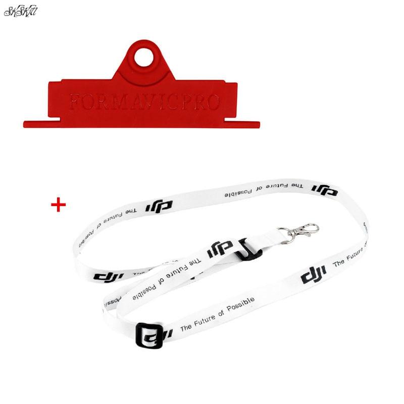 Remote Control Shoulder Neck Strap Belt Lanyard + Hang Buckle bracket Board for DJI Mavic pro air Spark mavic mini Drone
