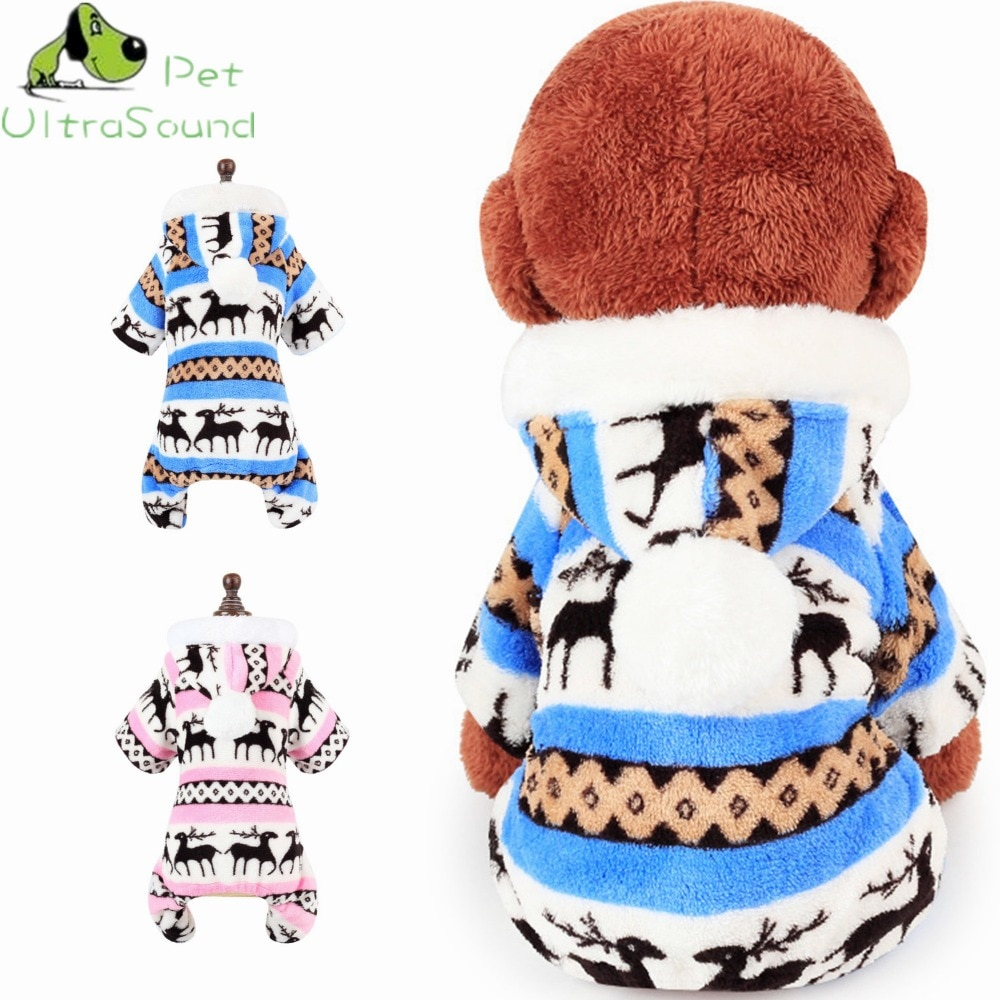 Мягкий флисовый свитер со снежиной для собаки, Одежда для питомцев, Коралловое бархатное рождественское пальто для щенков с рисунком корал...