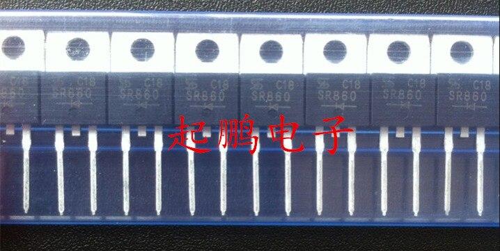Original nuevo 10 uds/SR860 8A 600V TO220-2-220-2