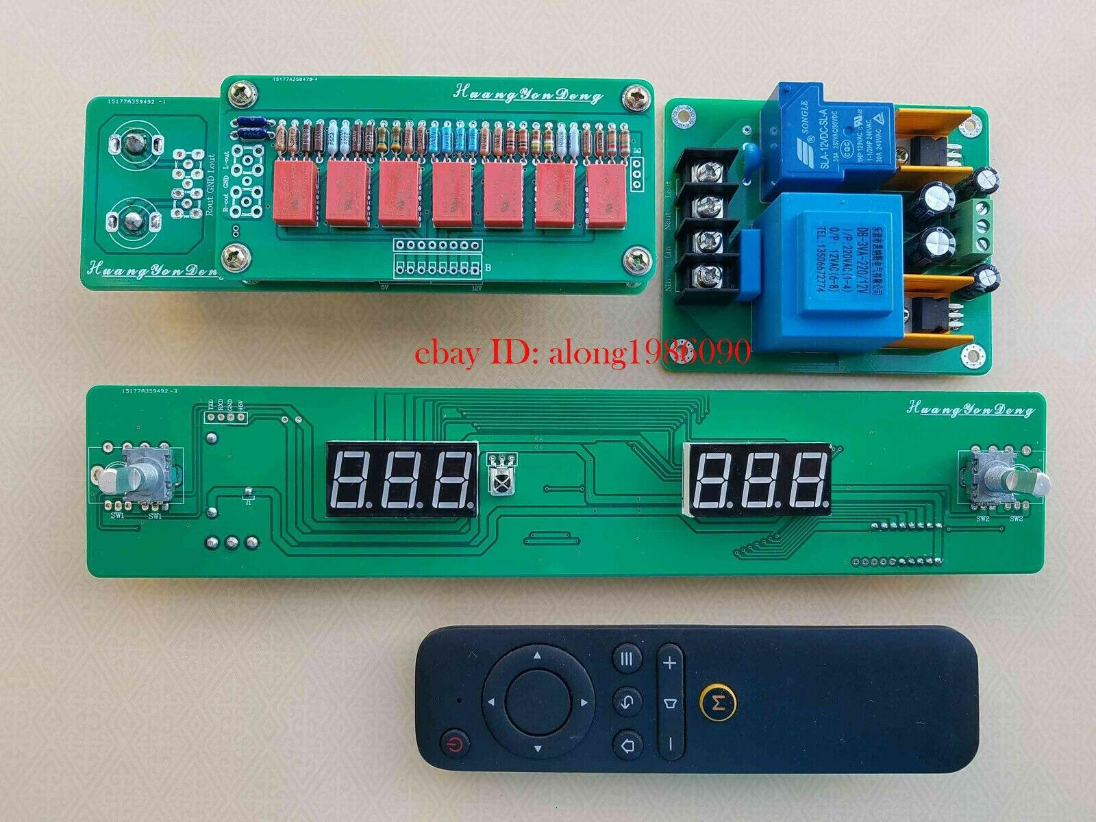 DIYERZONE Hiend 128 pasos Control remoto de volumen tablero relé pura resistencia Shunt L14-24