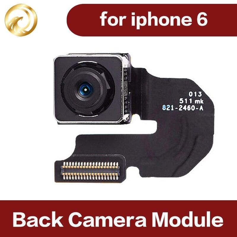 Cámara Grande trasera original OK de prueba de 100% para módulo de cámara IPHONE6 Cable flexible lente móvil de alta calidad