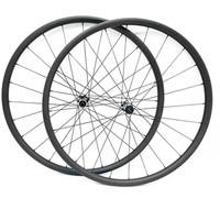 27.5er carbon mtb disc wheels tubeless 27.4x23mm Asymmetry Straight pull D411SB/D412SB 100X15(10) 142X12 mtb carbon wheels 1423