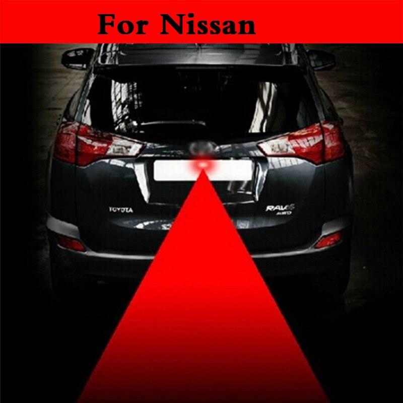 new Led Lamp Laser Anti Fog Light 12v Car Warning Lights For Nissan 350Z 370Z AD Almera Classic Altima Armada Avenir Juke Nismo