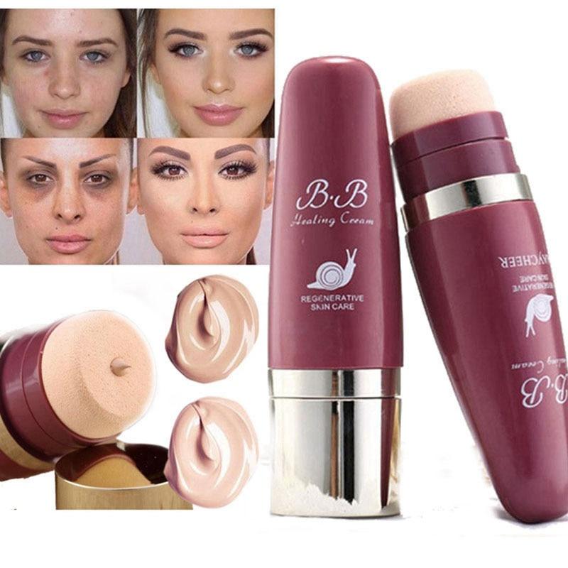 2019 nueva Base de maquillaje a la moda crema correctora de aceite Base mate BB Cushion cara cobertura completa cosméticos profesionales
