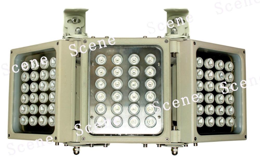 850nm 740nm 940nm IR illuminator , Infrared Lamp, invisible IR light with Aluminum material & night vision light sources