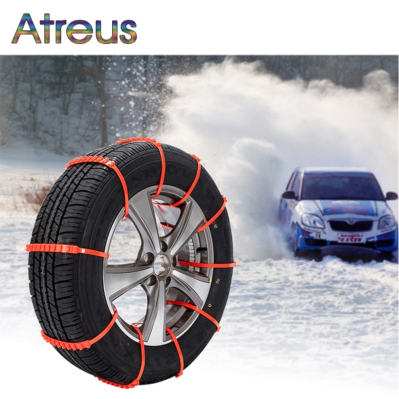 Atreus 10 Uds invierno antideslizante cadenas para nieve Havel Ford Focus 2 3 1 Fiesta Mondeo Kuga Ranger Toyota RAV4 C-HR Corolla Avensis