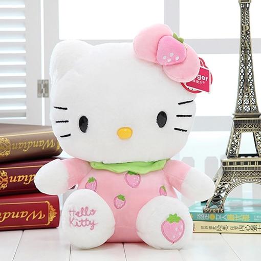 Spedizione gratuita! Strawberry Ciao Kitty Gatto peluche, regali per bambini, regali fidanzata