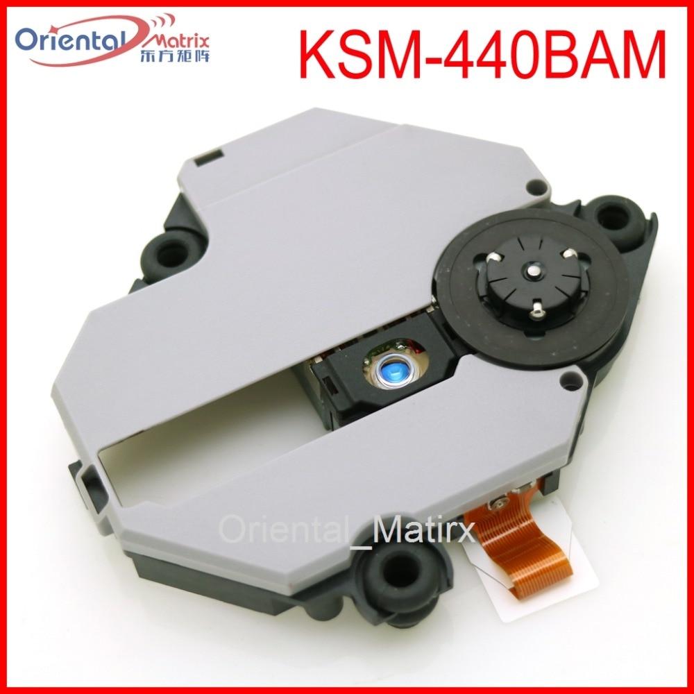 Envío Gratis KSM-440BAM Original recogida óptica para Sony Playstation 1 PS1 KSM-440 con mecanismo de recogida óptica