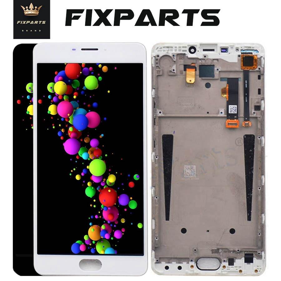 "100% probado 1920x1080 pantalla LCD Meizu M3 Max montaje de digitalizador con pantalla táctil con reemplazo de Marco 6,0 ""Pantalla MEIZU M3 Max"