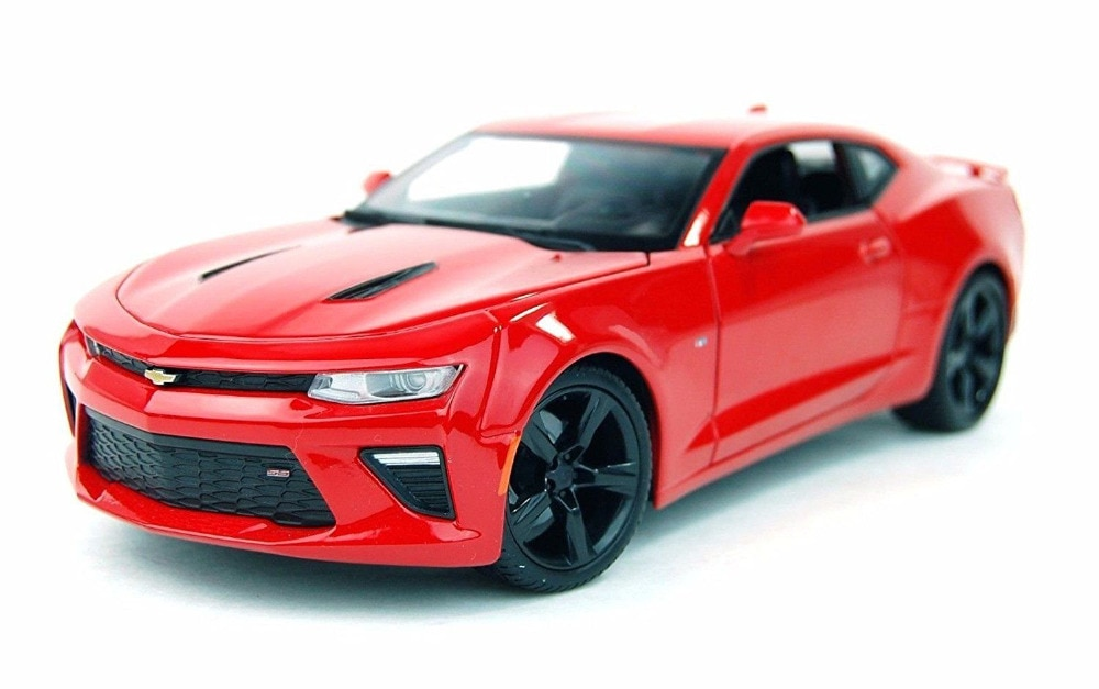 Maisto 118 2016 Chevrolet Camaro SS Diecast Modell Sport Racing Auto NEUE IN BOX