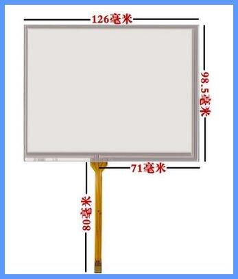 Envío Gratis 5,6 pulgadas pantalla táctil de pantalla industrial AT056TN52 53 TM056KDH01 pantalla ST-056001
