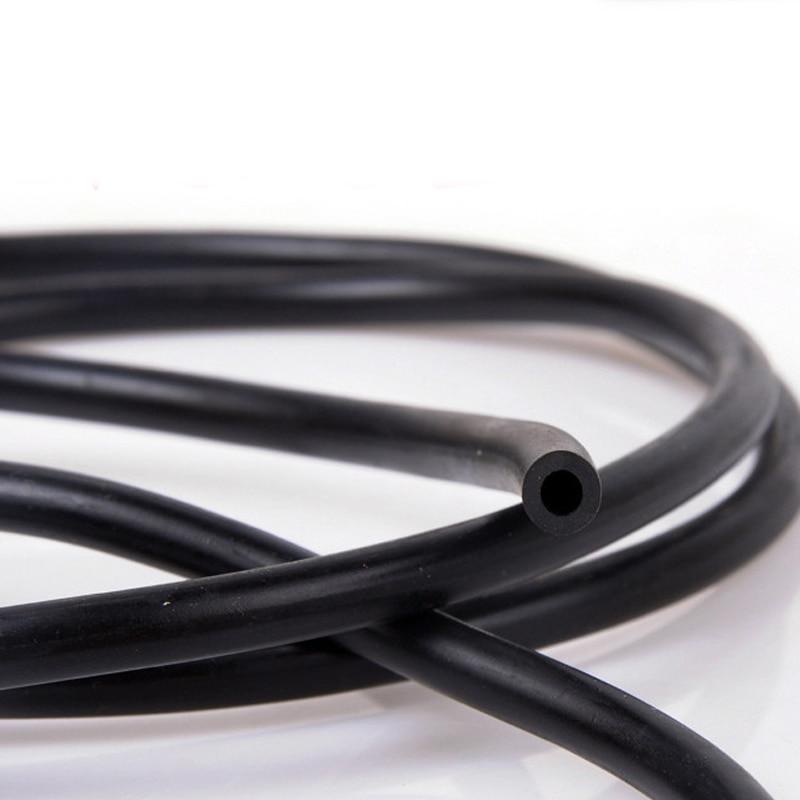 Черные резиновые автомобильные стеклоочистители epdm 3 м x 4 мм x 7 мм, сопло для распыления воды, соединительная трубка, резиновый шланг для авт...