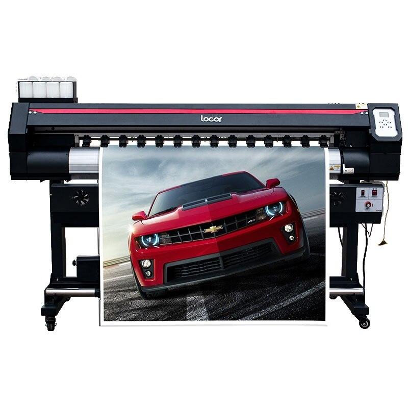 Locor na zewnątrz cyfrowy XP600 ploter papier do sublimacji drukarki naklejka na samochód drukarka wielkoformatowa Banner Pinting maszyna do 160 cm