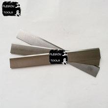 3 pièces W4 HSS lame de rabot électrique. 3*25*210mm coupe-rabot à bois. 3x25x210mm rabot lames de scie coupe pin, bois dur