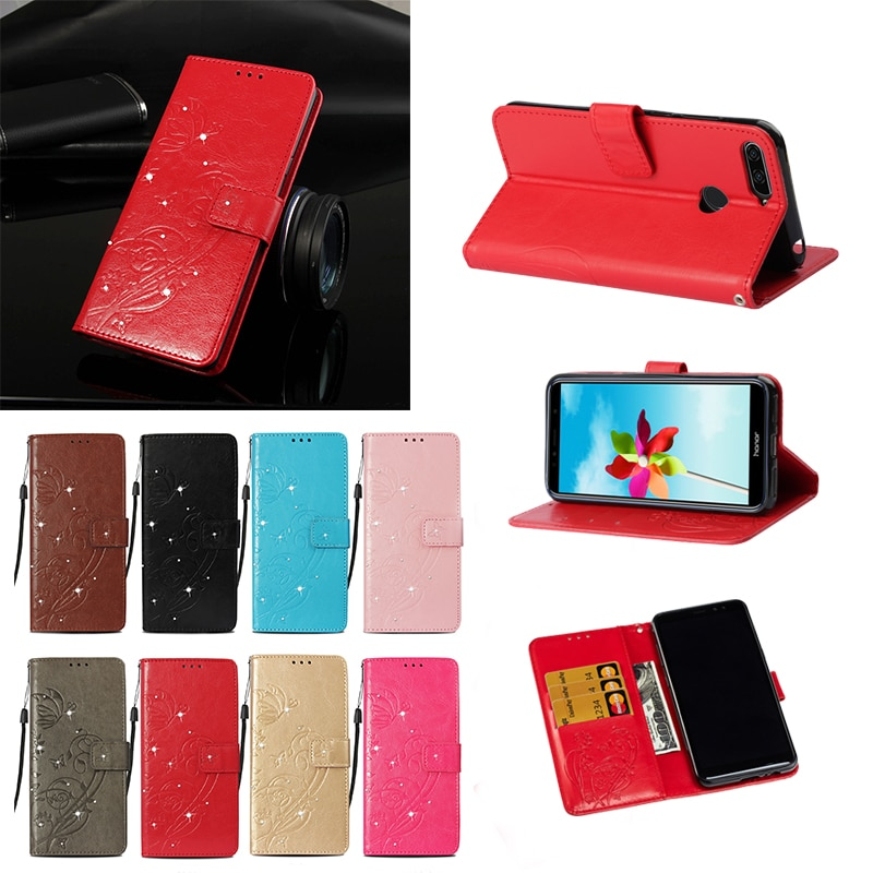 for Huawei Honor 7A Pro case AUM-L29 for Huawei Autumn Honor 7A AUM-TL20 AUM-AL20 AUM-AL00 Honor Play 7A wallet cover phone Flip