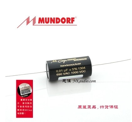 German original mundorf M-CAP-SUPREME SILVER/GOLD/OIL capacitor 0.01uf-10uf 690VAC 1000VDC free shipping