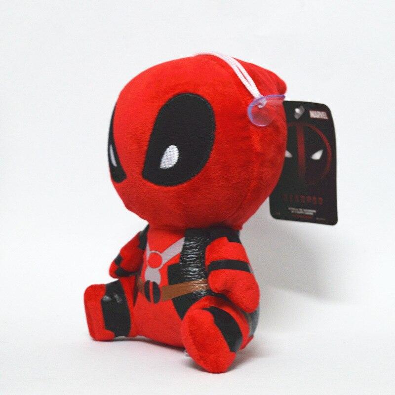1 Uds. Marvel Deadpool juguetes de peluche de Spiderman x-men regalos de muñecas para niños