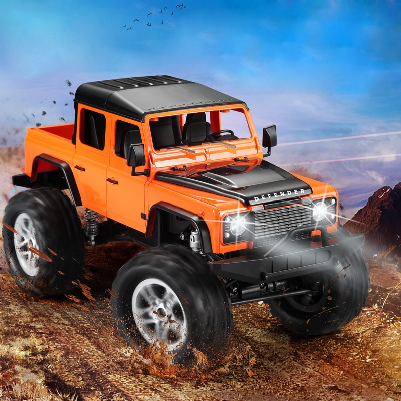 1:14 RC Car 4WD 2.4GHz Simulation Remote Control Racing Climbing Carro Defender Model Off Road Trucks Vehicle Toys for Kids enlarge