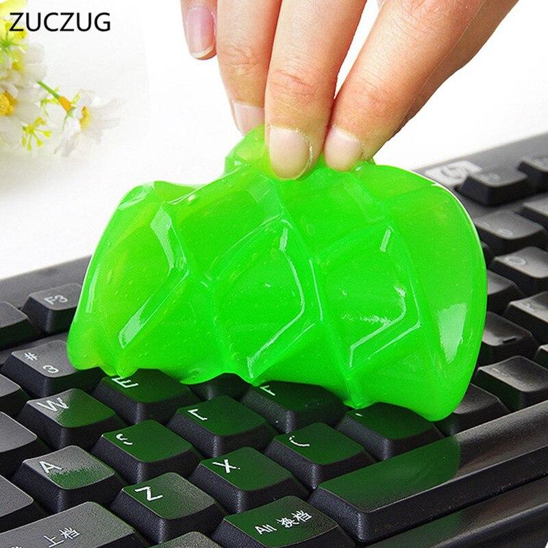 Магический гель для быстрой очистки от пыли, супермягкий липкий очиститель для клавиатуры ноутбука и автомобиля
