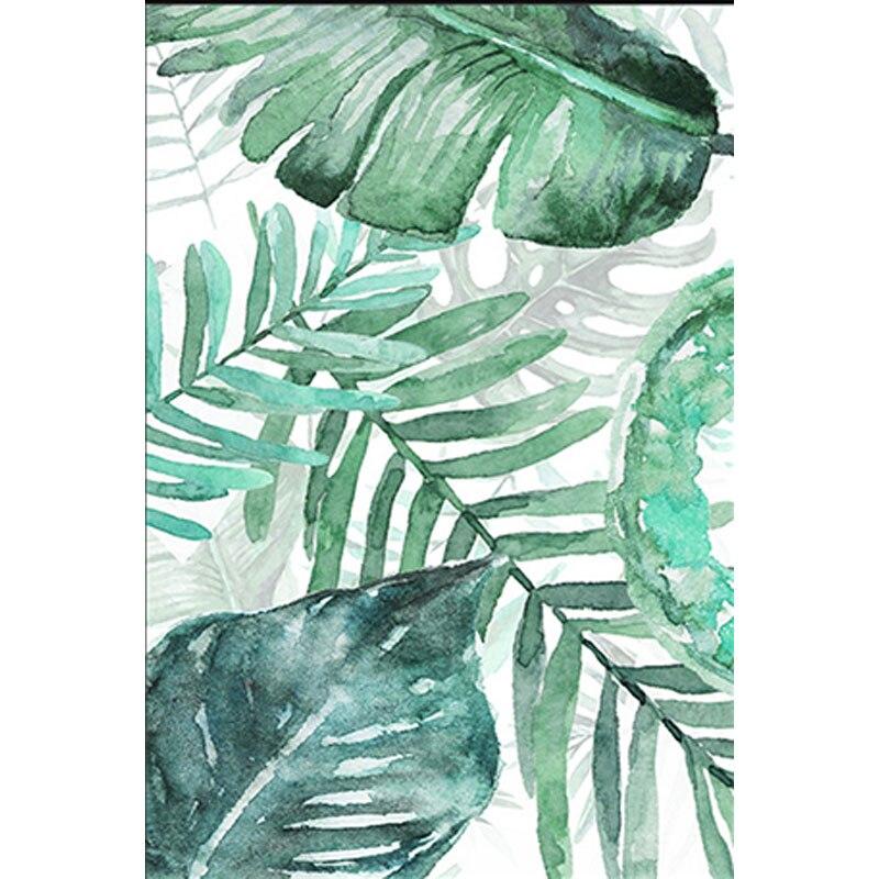 Peinture de feuilles vertes H2832 YIKEE   puzzle en diamant 5d, perceuse complète de peinture en diamant 5d