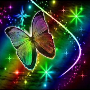 5D Вышивка квадратная/круглая бабочка животное Diy алмазная живопись рукоделие Алмазный домашний декор