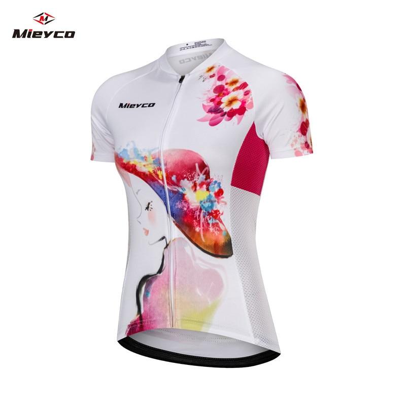 Pro mujeres ciclismo Jersey verano Anti-UV ciclismo ropa carreras MTB bicicleta ropa chica montaña bicicleta ciclismo diseño