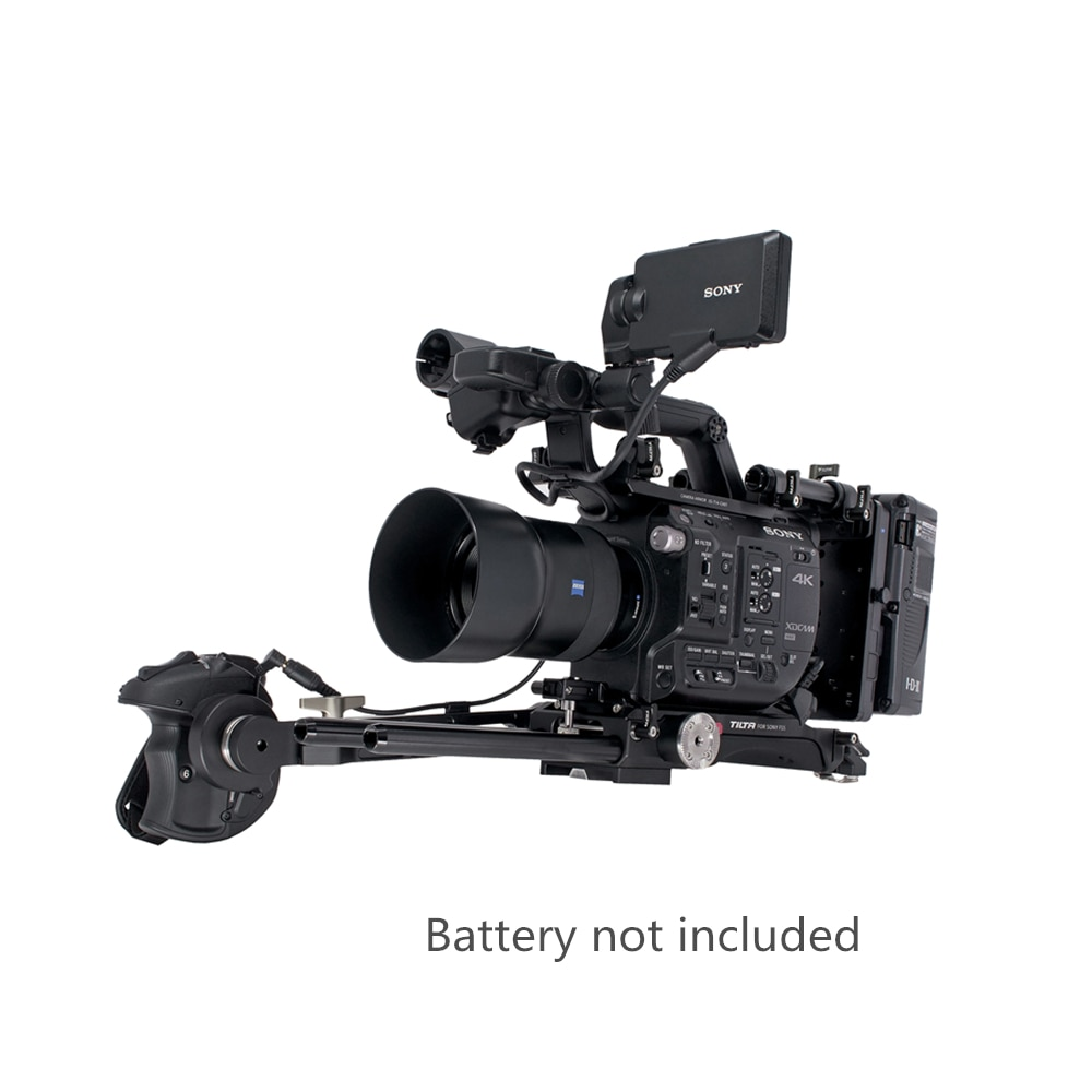 Tilta-Kit de placa base de liberación rápida para cámara SONY FS5, ES-T14A,...
