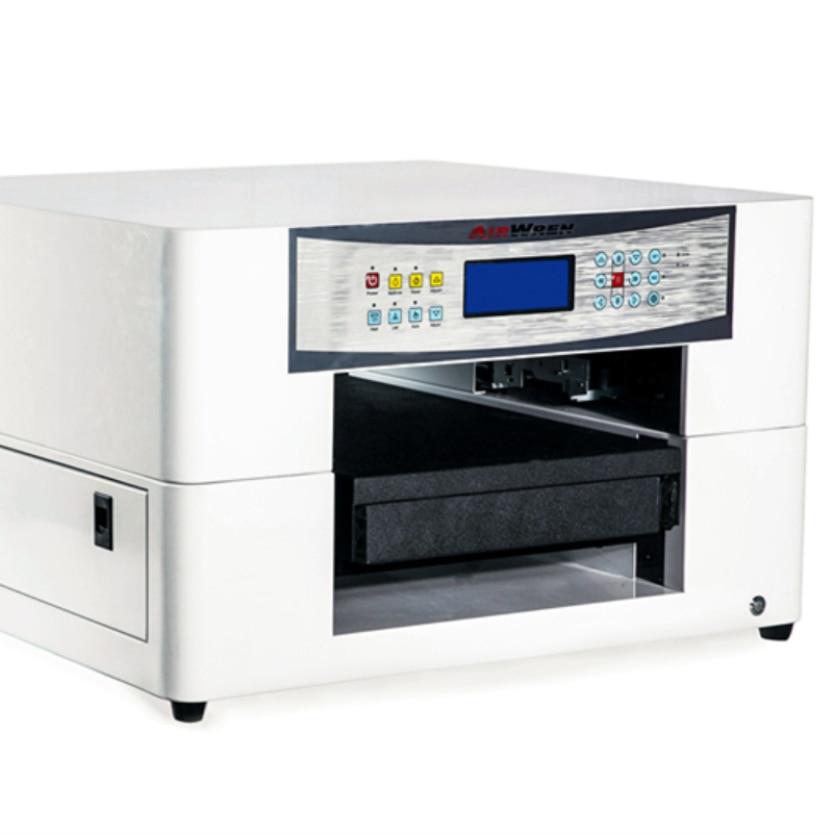 Máquina de impresión de LED UV Digital de tamaño A3 de fabricación China, impresora automática con máquina de efecto en relieve 3d