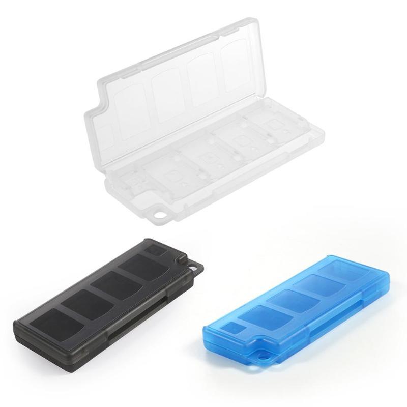 Caja de almacenamiento de tarjeta de memoria 8 en 1 para Nintendo Switch