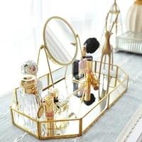 golden dressing mirror princess mirror net red beauty mirror to send girlfriend gift