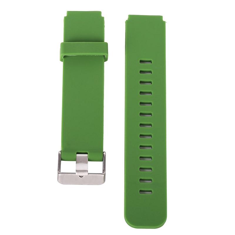 18mm relógio masculino esporte durável pulseira de silicone para samsung clássico pulseiras relógio inteligente