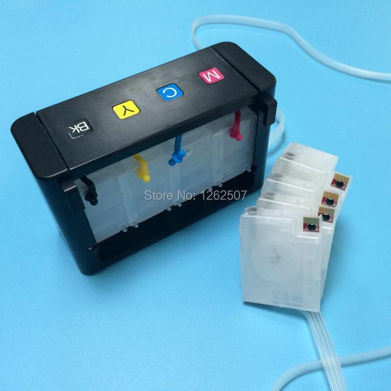 Sistema Ciss para impresora hp officejet 8600 8100 8620 8610 8630 cartucho de tinta ciss a granel con chip para hp 950 951 950xl tinta ciss