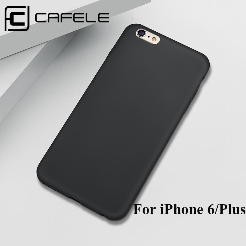 CAFELE чехол для телефона iPhone 6 6s Plus, матовый чехол из полипропилен силикон, чехол для iPhone 6 6s Plus, модная задняя крышка, чехол с защитой от отпечат...