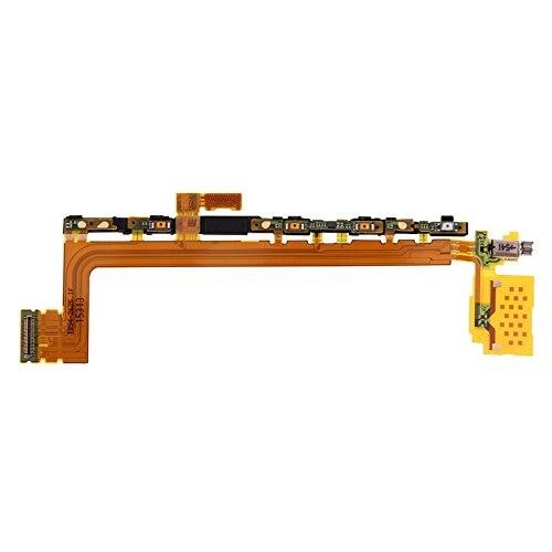 1 Uds Original para Sony Xperia Z5 Premium Z5P E6653 E6683 botón de encendido volumen tecla Flex con cable Flex con vibrador cinta parte