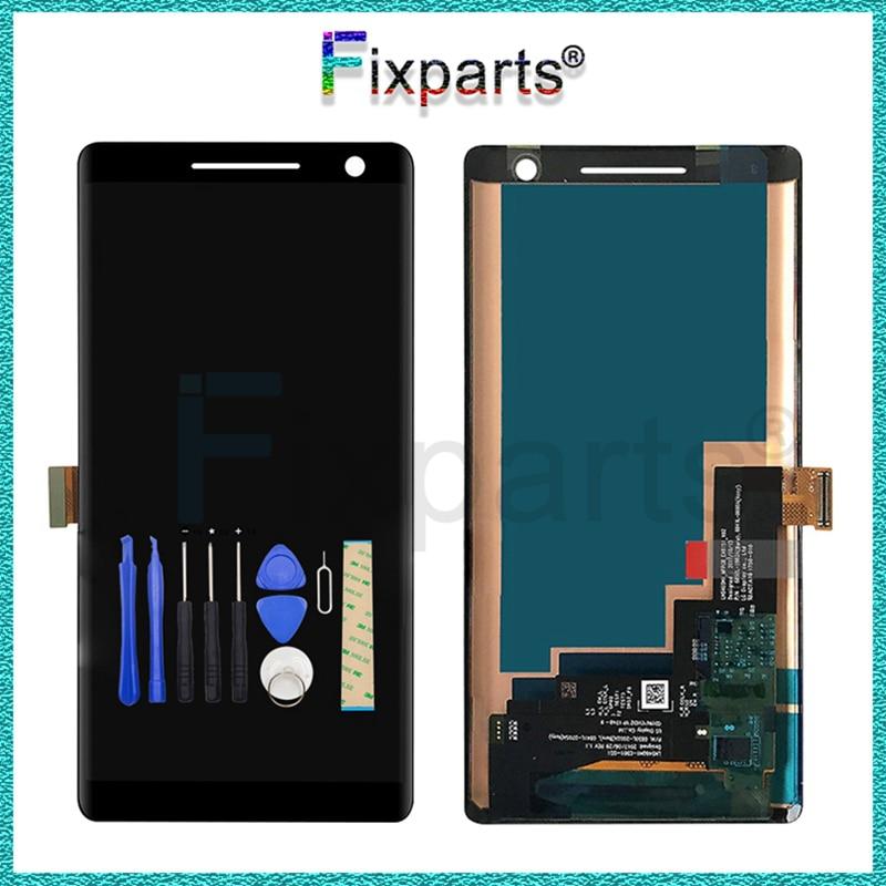 Pantalla negra para Nokia 8 Sirocco LCD de 5,5 pulgadas, montaje de digitalizador con pantalla táctil para Nokia 8 Sirocco TA-1005 LCD
