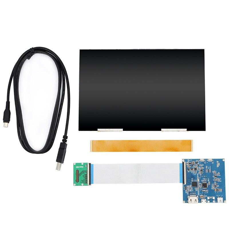 8.9 polegada hd 2 k tela lcd fhd 1600x2560 hdmi para mipi controlador placa driver para diy vr pc luz cura sla uv impressora 3d parte