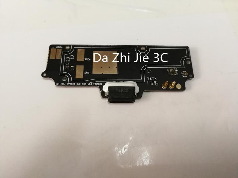 Para blackview bv8000 PRO USB Placa de Carga Plugue conector USB Plugue do Carregador Placa do Módulo de peças de Reparo + Número Da Faixa