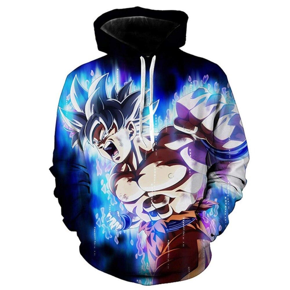 Dragon Ball Z Goku 3D Hoodie Mantel Männer Frauen Sweatshirts 3D Hoodies Pullover Oberbekleidung Hoodie Jacke Trainingsanzüge Street Hoody