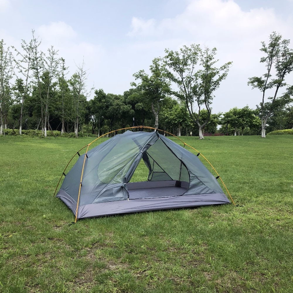 UL Granito 2 Pessoa Ultraleve Mochila Tenda ao ar livre, Verde/Branco, Barraca, CZX-263 caminhadas tenda, NX Hubba Tenda, Tenda de Trekking