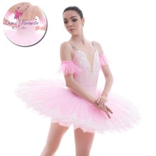 BLL053 Pink Pre-professional ballet tutu women and Girl Stage ballet costumes tutu ballerina tutu 7 layers ballet tutu
