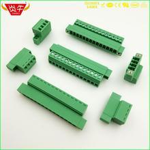 Rallonge 3.81 P ~ 12P PCB   Blocs de bornes enfoncés 15EDGKRP 3.81mm 2 broches ~ 12 broches IMC 1,5/ 2-STGF-3,81 - 1858031 PHOENIX DEGSON