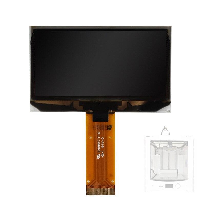 UM2 التحكم بانيل LCD شاشة LCD 2.42 شاشة OLED حقيقية بقعة ل Ultimaker 2 3d أجزاء الطابعة