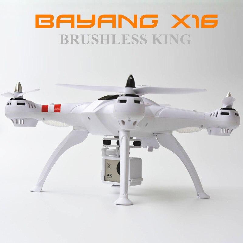 Bayang x16 rc quadcopter profissional zangão motor sem escova 11.1v 2200mah bateria pk cheerson Cx-20 zangão