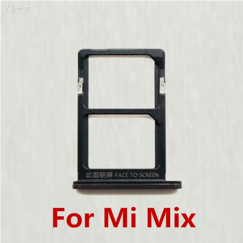 Bandeja de tarjeta SIM para Xiaomi mi x soporte para tarjeta SIM piezas de repuesto