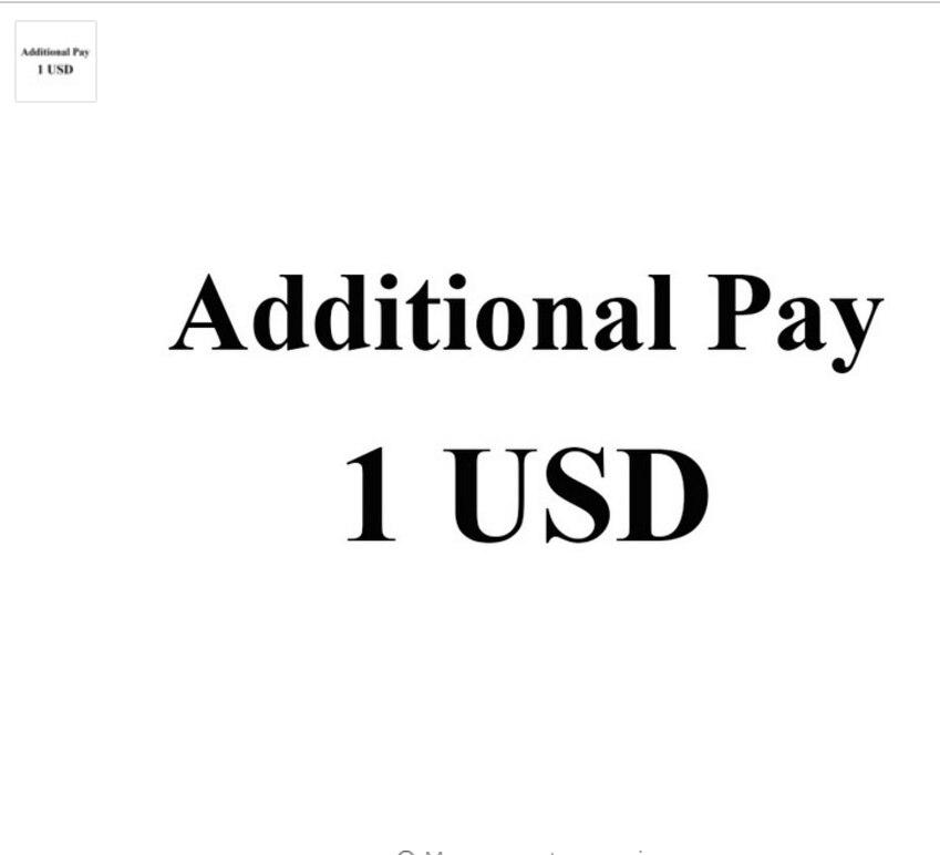 دفع إضافي (إضافة جانب أو لون)