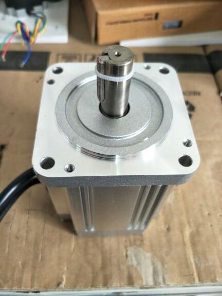 محرك بدون فرش 48 فولت تيار مستمر ، 400 واط ، 4500 دورة في الدقيقة ، محرك بدون فرش عالي السرعة 80BL100S40-445