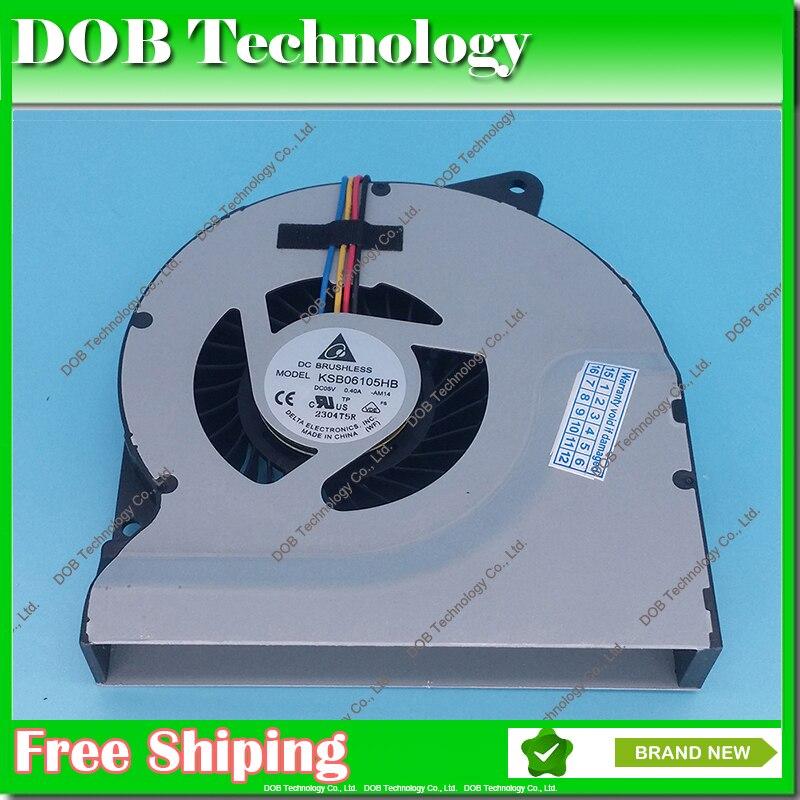 KSB06105HB AB20 AM14 VENTILADOR de REFRIGERAÇÃO da CPU PARA ASUS N53JF N53 N53JN N73 N73JN N53S N53SV N53SM N73J N73JN resfriamento laptop fã