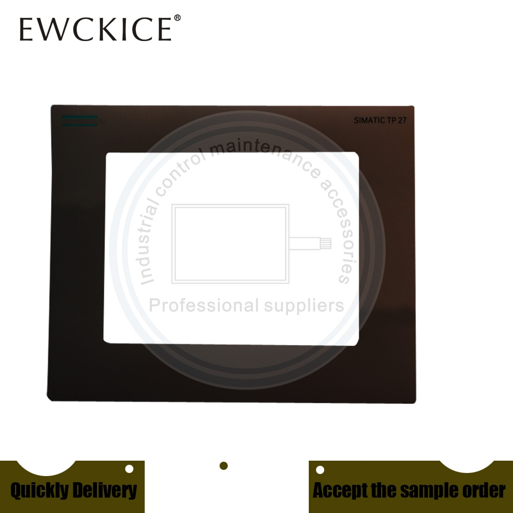 NEW TP27-10 6AV3627-1QL01-0AX0 6AV3 627-1QL01-0AX0 HMI PLC Touch screen AND Front label Touch panel AND Frontlabel enlarge
