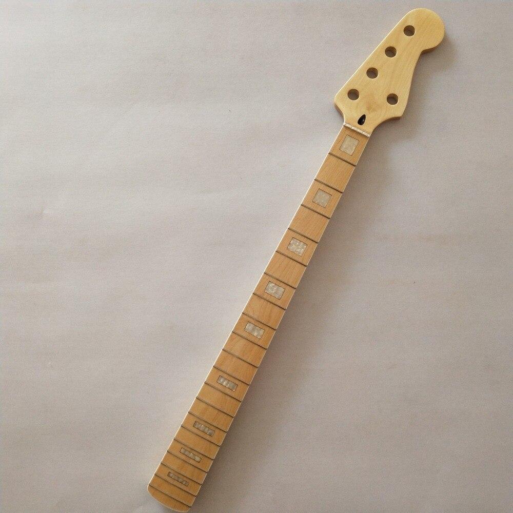 Maple 5 string bass maple fingerboard pescoço substituição