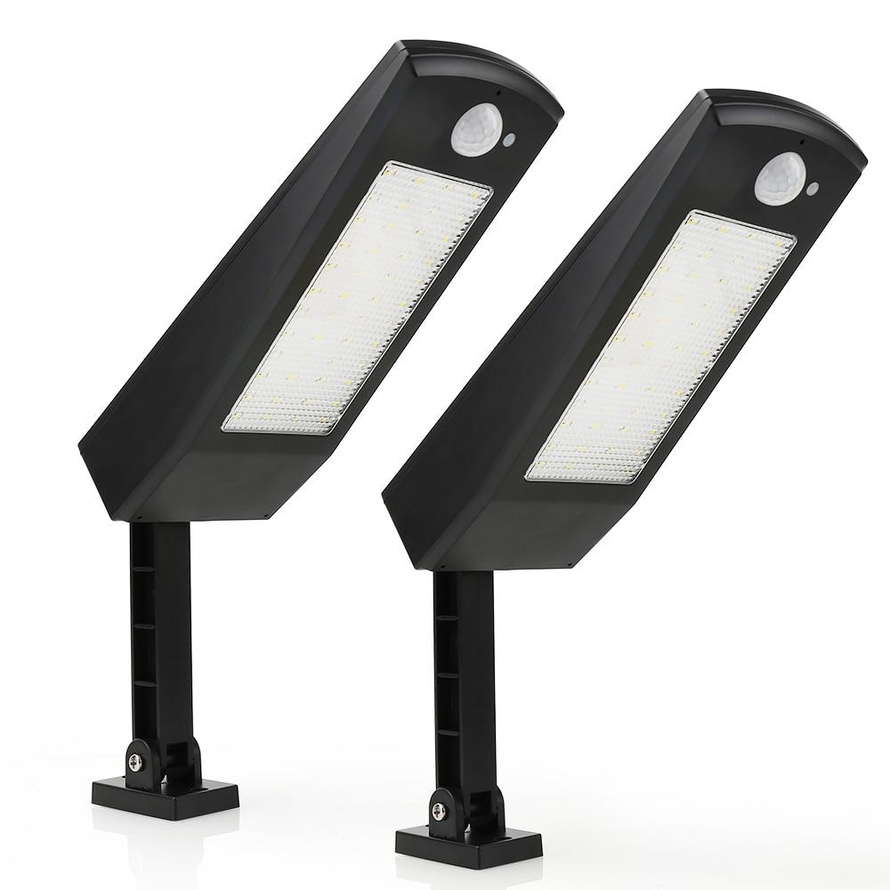 2Pc/Set LED Garden Solar Lights Outdoor Waterproof Solar Powered Light PIR Motion Sensor Wall Lamp For Balcony Courtyard Pathway enlarge